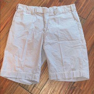 Polo Ralph Lauren preppy blue white shorts 32 +